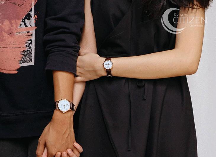 Cách chọn đồng hồ Citizen nam dây da