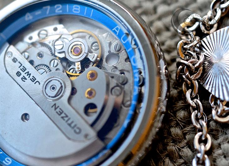 đồng hồ citizen nam dây da