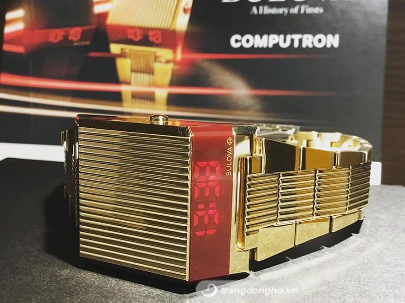 Bulova 97C110 mặt số điện tử