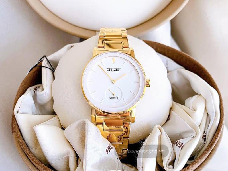 Ưu điểm của đồng hồ mạ vàng Citizen 18K