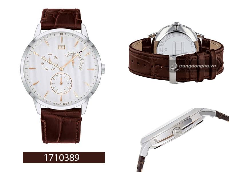 đồng hồ Tommy Hilfiger dây da Quartz 1710389