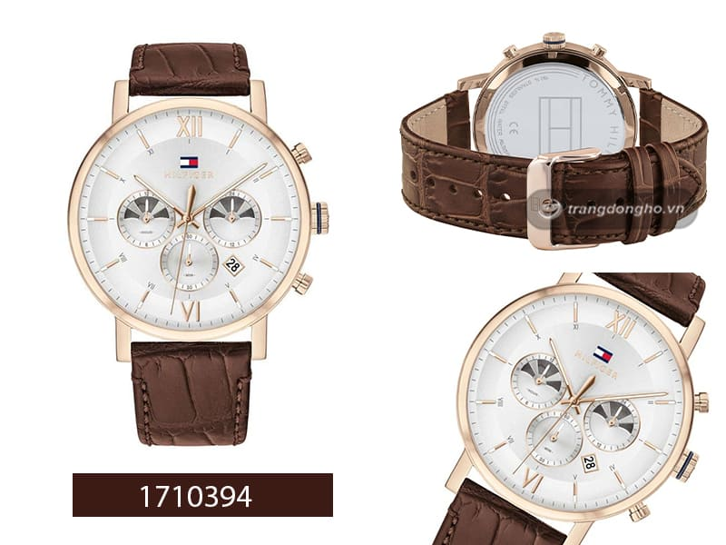 đồng hồ Tommy Hilfiger dây da Quartz 1710394.