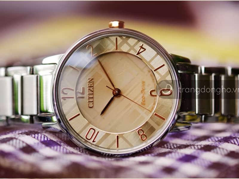 Đồng hồ Citizen Eco-drive nữ EM0526-88X