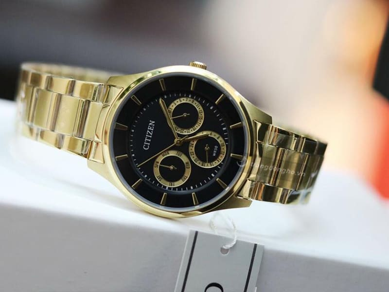 Đồng hồ Citizen Nam dây kim loại Quartz AG8352 - 59E