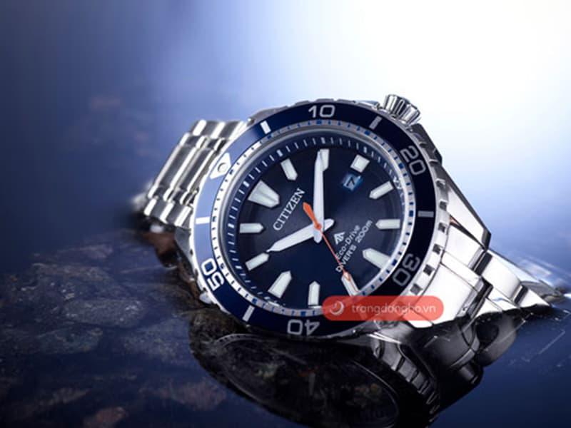 Đồng hồ Citizen sử dụng tiêu chuẩn chịu nước quốc tế.
