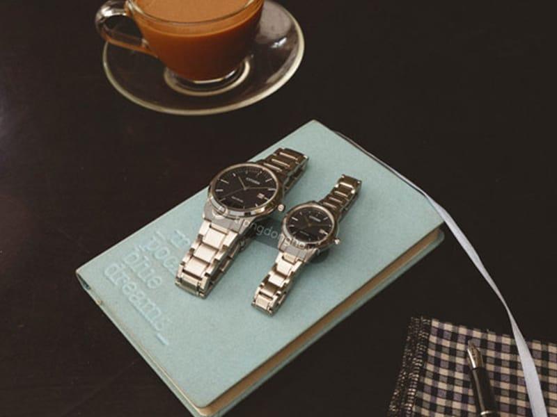 Đồng hồ Citizen đôi AW1231-58E & FE1081-59E