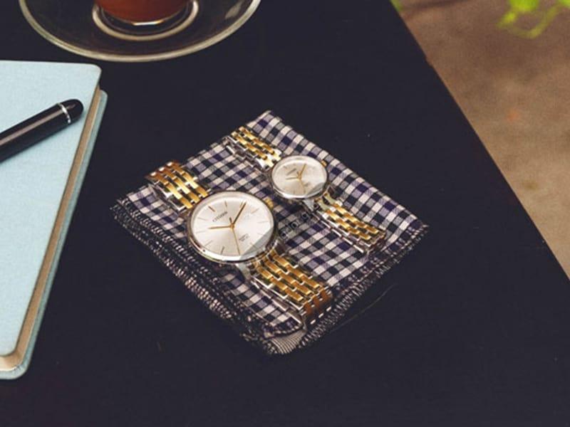 Đồng hồ Citizen đôi BI5074-56A & EU6094-53A