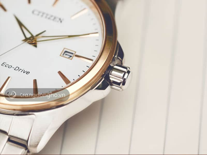 Đồng hồ Citizen sử dụng vạch giờ