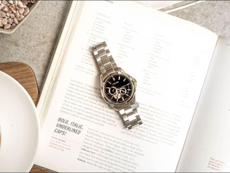 mẫu đồng hồ Citizen cơ lộ máy