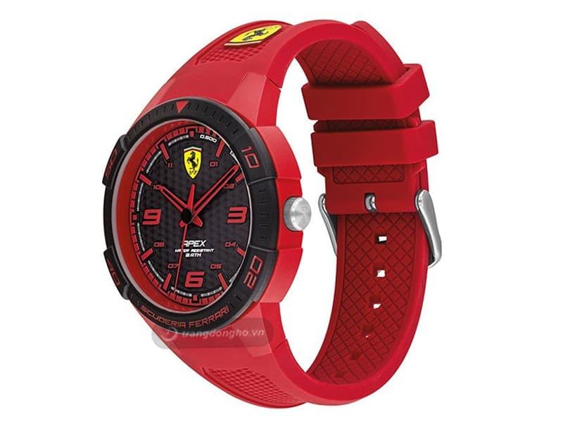 Đồng Hồ Ferrari Nam Dây Cao Su Quartz 0830748
