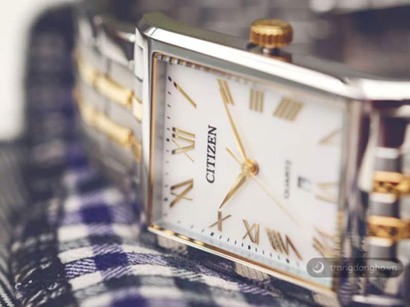 đồng hồ citizen nữ mặt vuông EJ6124-53D