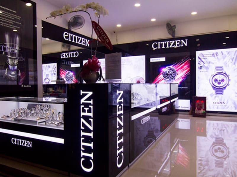 cửa hàng đồng hồ citizen chính hãng