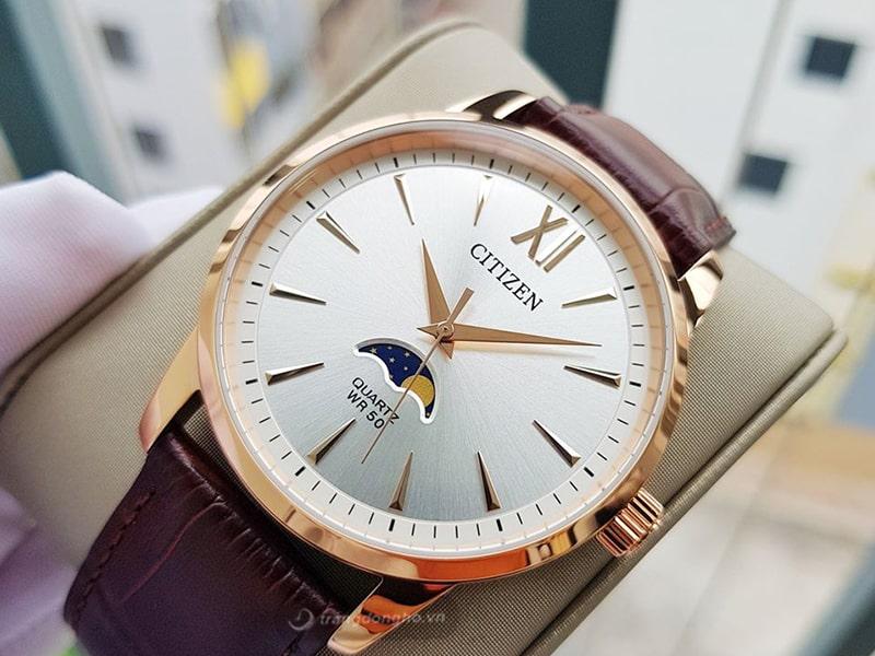 đồng hồ citizen quartz thiết kế ấn tượng