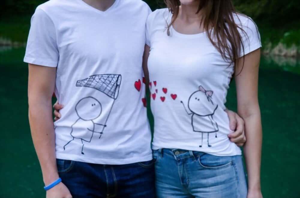 áo đôi tình yêu