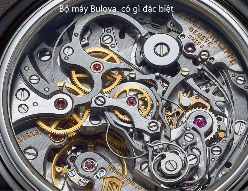 bộ máy đồng hồ bulova