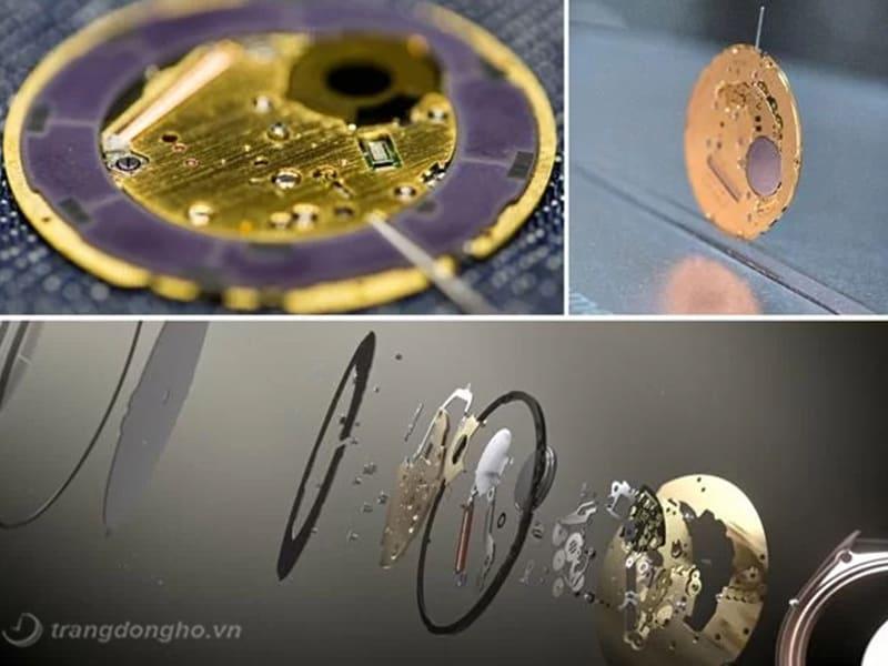 bộ máy đồng hồ citizen siêu mỏng