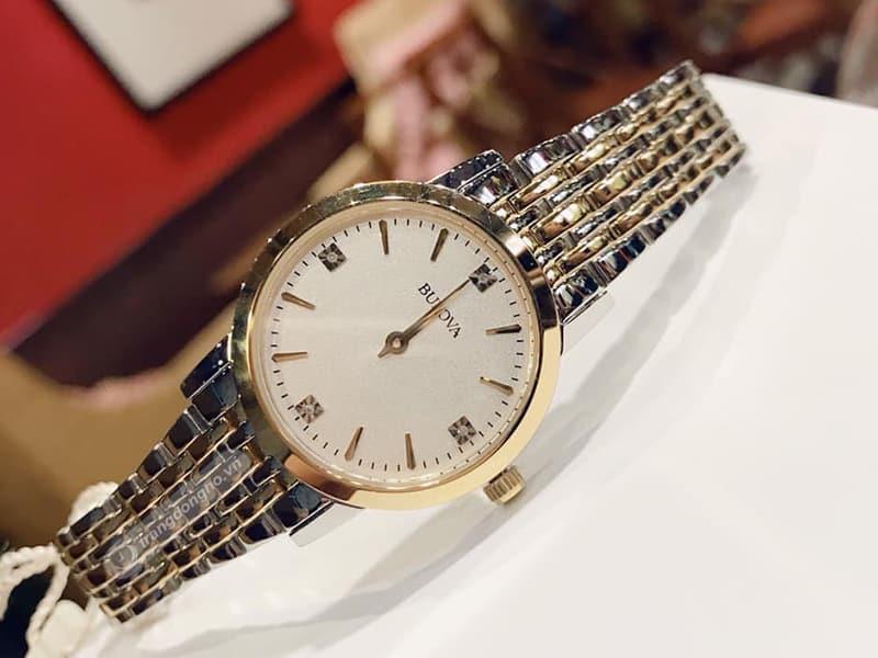 Đồng hồ Bulova 98P115 cổ điển thanh lịch