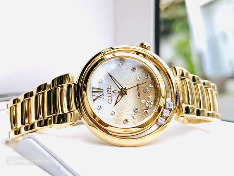 Đồng hồ Citizen nữ chính hãng EM0328-57P