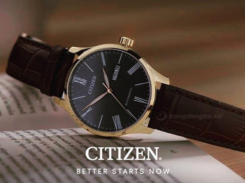 Citizen NH8353-00H - mẫu dresswatch với thiết kế lịch sự nhã nhặn.
