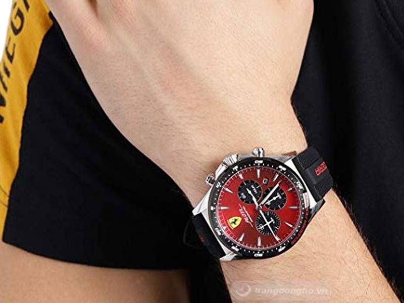 Vẻ đẹp cuốn hút của đồng hồ Ferrari 6 kim 0830595