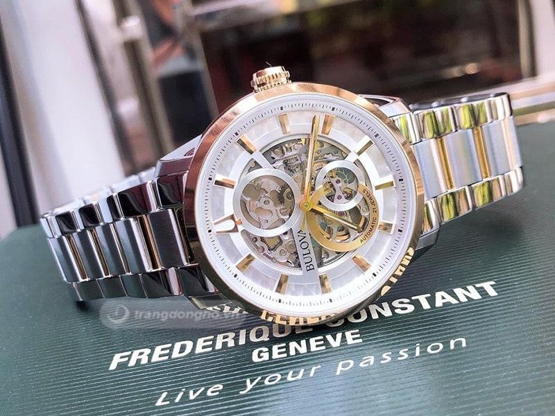 Hình ảnh chiếc đồng hồ Bulova sang trọng tinh tế