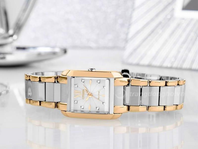 Đồng hồ Citizen Petite EW5556- 87D sang trọng, cuốn hút