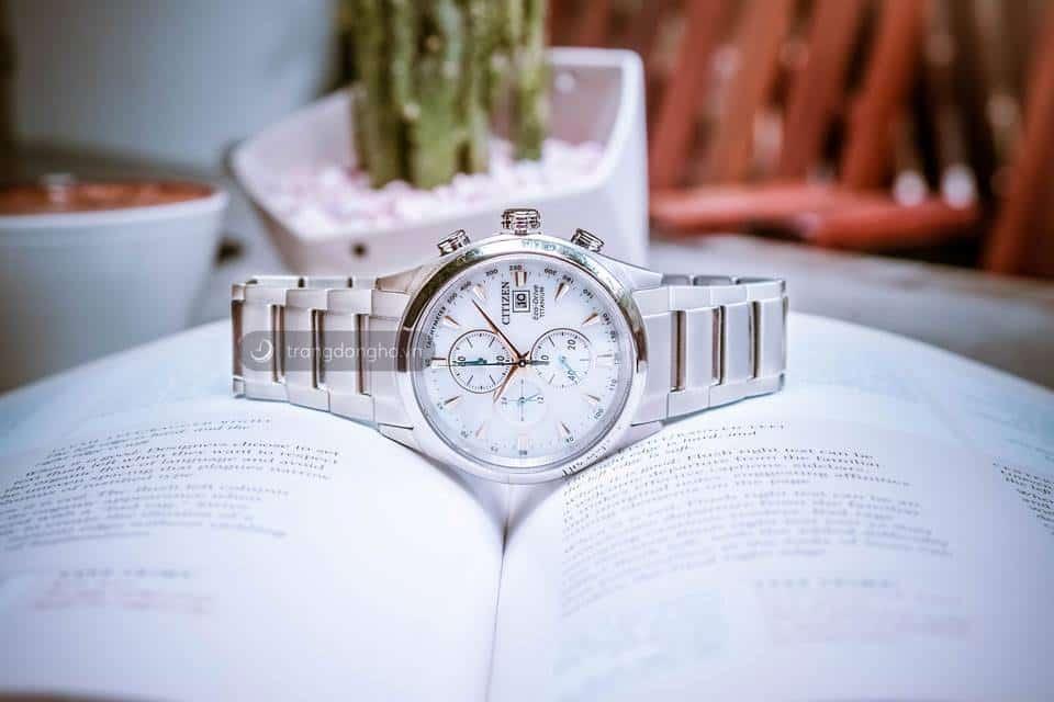 Đồng hồ Citizen Super Titanium CA0650-82B