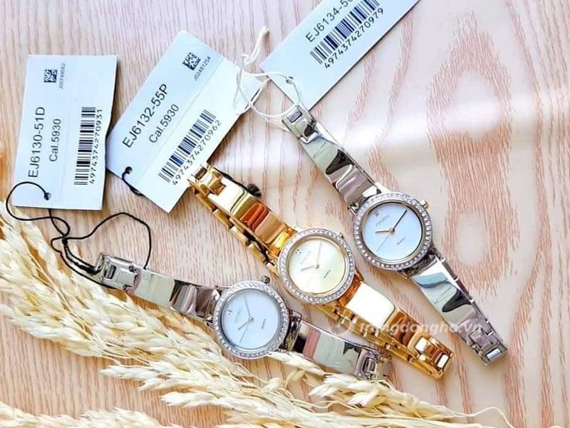Mẫu đồng hồ Citizen nữ EJ6130-51D đẹp giá bình dân chỉ từ 3 triệu đồng